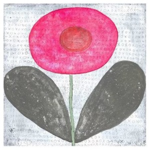 Teaberry Lane - Happy Flower Wall Art