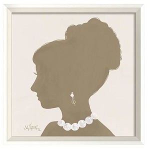 Clementine Court - Lady Silhouette Wall Art