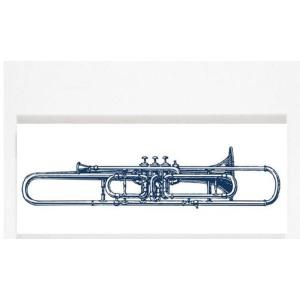 Chelsea Square - Valve Trombone Wall Art