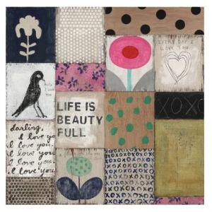 Teaberry Lane - Collage Number 1 Wall Art