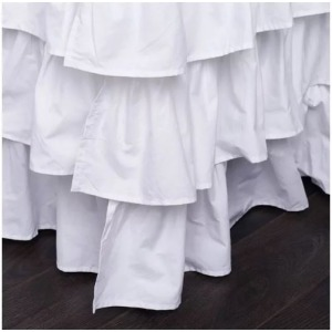 Clementine Court - French Ruffle Bed Skirt - Twin