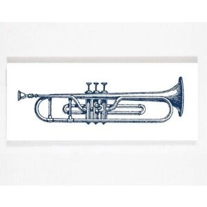 Chelsea Square - Trumpet Wall Art