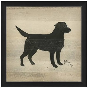 Teaberry Lane - Lab Silhouette Wall Art