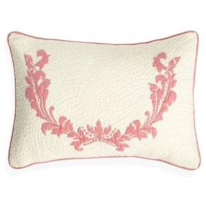 Clementine Court - Small Damask Bolster Pillow