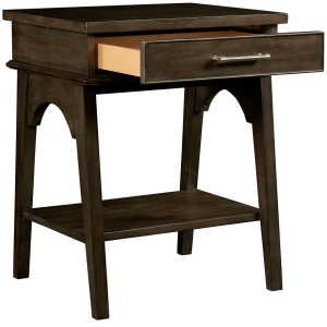 Chelsea Square Bedside Table - Rasin