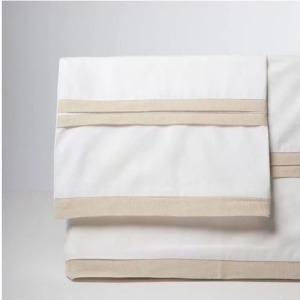 Driftwood Park - Bella Banded Sheet Set - Twin