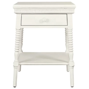 SMILING HILL - BEDSIDE TABLE - MARSHMALLOW