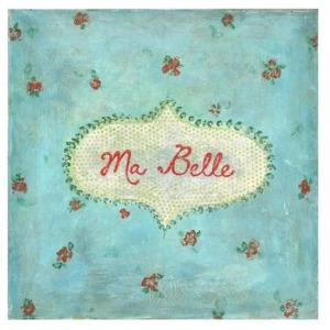 Clementine Court - Ma Belle Wall Art