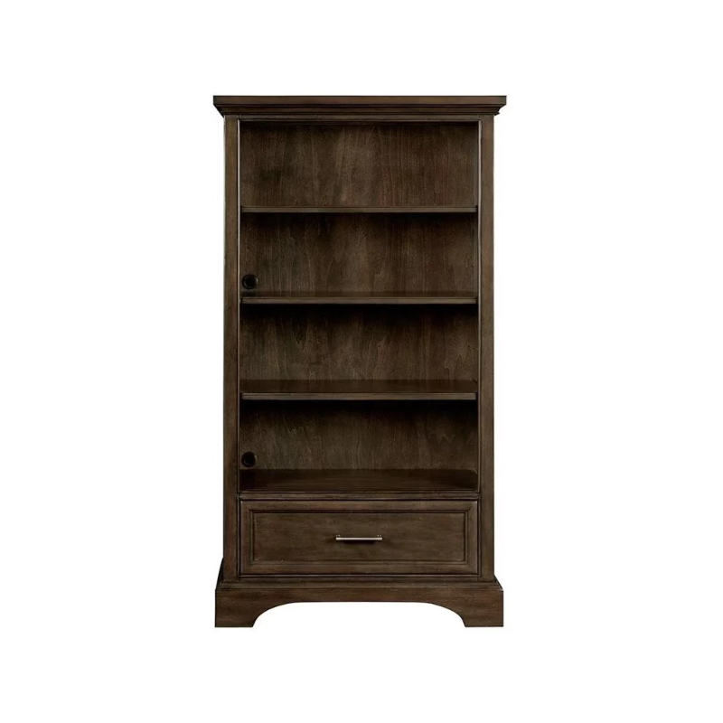 CHELSEA SQUARE - BOOKCASE - RAISIN