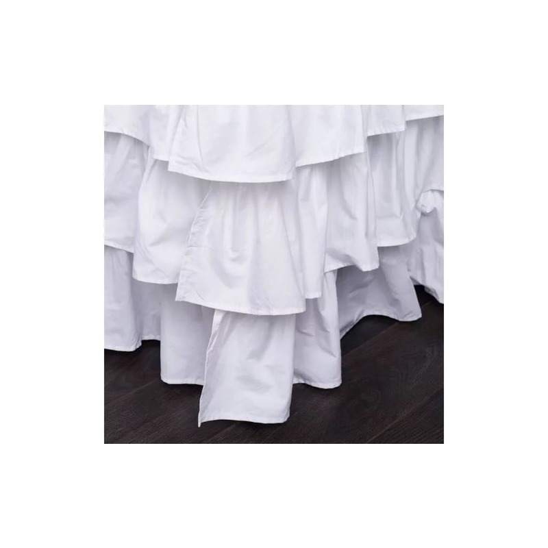 Clementine Court - French Ruffle Bed Skirt - Queen