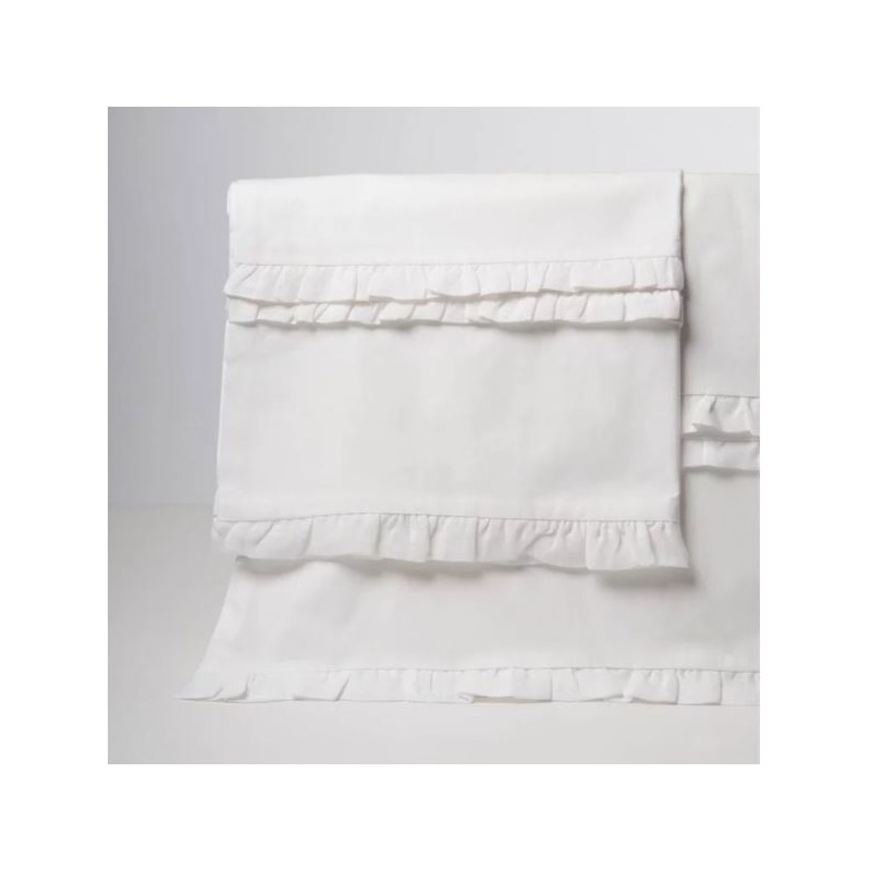 Clementine Court - Petite Ruffle Sheet Set - Queen