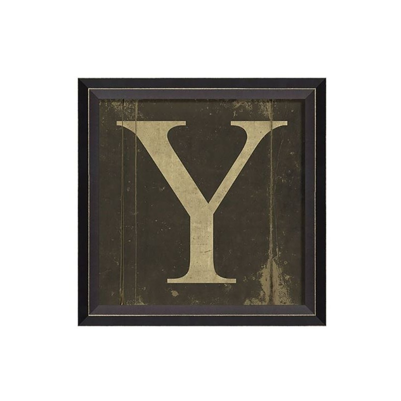 Chelsea Square - Letter Y Wall Art