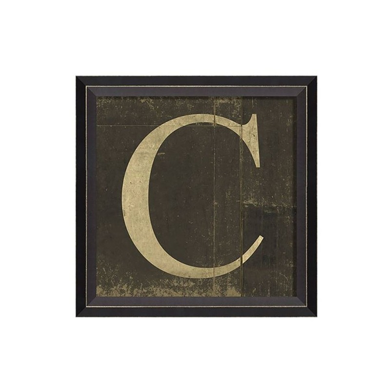 Chelsea Square - Letter C Wall Art