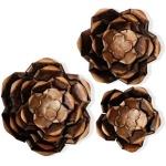 Copper Flower Power Metal Art
