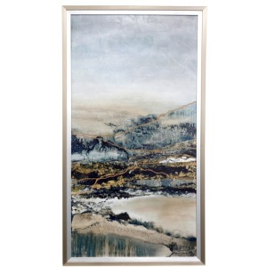 Beauty in Erosion Textured Framed Print