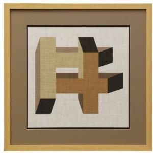 Geometric VI Graphic Wall Art