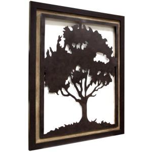 Framed Metal Tree