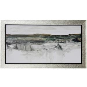 River Flow Textured Framed Print