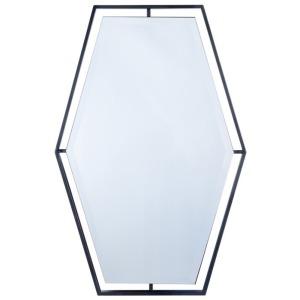 Ebony Metal Mirror