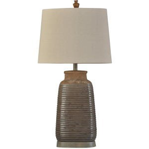 Armond Brown Ceramic Table Lamp