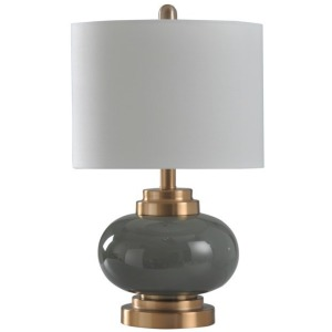 Copper & Gray Table Lamp