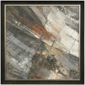 Fire & Ice - Textured Framed print