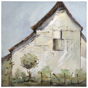Vintage Farmhouse Hand Painted Canvas