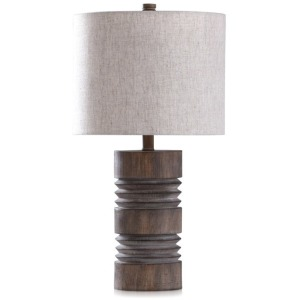 Roanoke Round Moulded Table Lamp