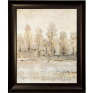 Peaceful Forest I Framed Textured Landscape Print