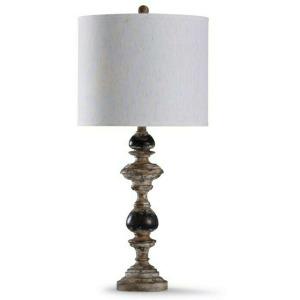 Bishop Cream Weathered Finish Table Lamp