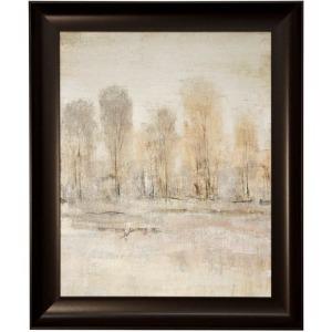 Peaceful Forest II Framed Textured Landscape Print
