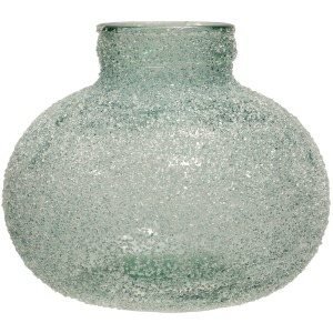 Rime Ice Soft Green Vase