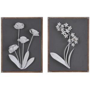 Metal Chalk Blooms