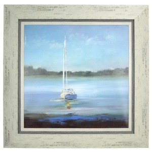 Safe Harbor Textured Framed Print