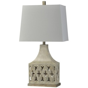 Briony Ivory Traditional Table Lamp