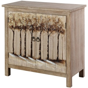 Willow Hand Painted Cabinet