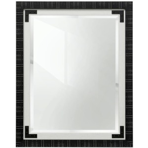 Black & White Farmhouse Mirror