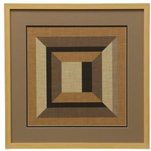 Geometric V Graphic Wall Art