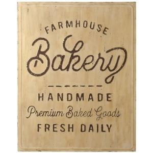 The Bakery Farmhouse Design Metal Wall Panel