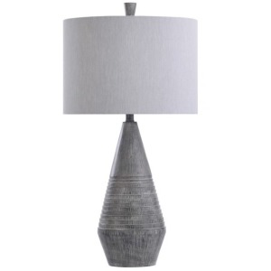 Bulwell Grey Table Lamp