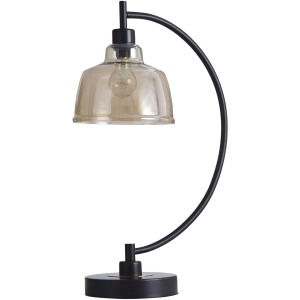 Black Water Table Lamp