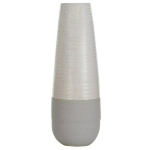 Evian Ivory Ceramic Vase