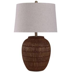 Stoneside Gold Ceramic Table Lamp