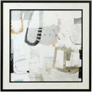 Modern Rhythm Textured Framed Print