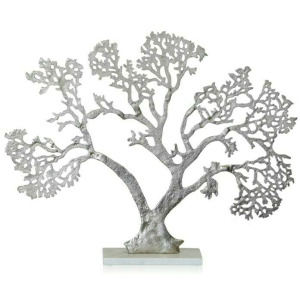 Tree of Life Statue with Marble Base