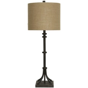 Industrial Bronze Table Lamp