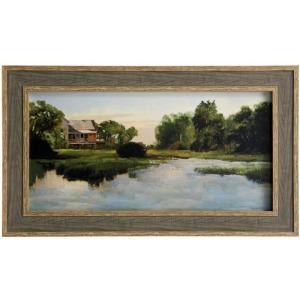 Alabama River Textured Framed Print
