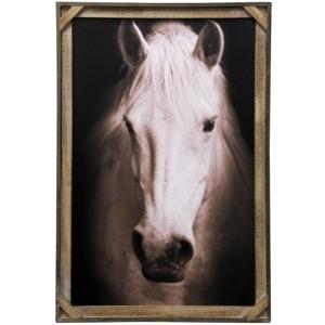 White Beauty Textured Framed Print