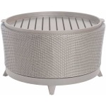 Halo Round Coffee Table - Oyster