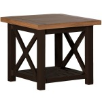Cahaba End Table - Mahogany Natural